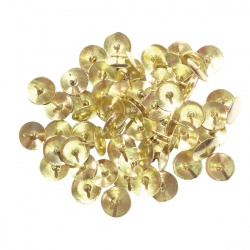 Brass Drawing Pins 9.5mm (Pack of 1000)