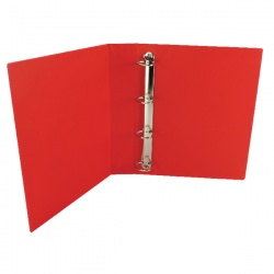 Whitebox Red 40mm 4D Presentation Ringbinder (Pack of 10) WX01330
