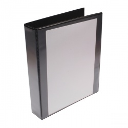 Whitebox Black 40mm 4D Presentation Ringbinder (Pack of 10) WX01332