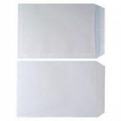 Plain White C4 Envelopes Self Seal 90gsm White (Pack of 250) WX3499