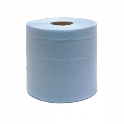 Whitebox Blue Centrefeed Roll 2 Ply 150m (Pack of 6) KMAT6238