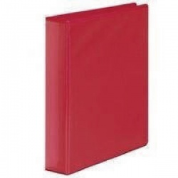 Whitebox Red 50mm 4D Presentation Ringbinder (Pack of 10) WX47658