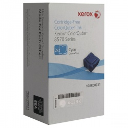 Xerox ColorQube 8570 Cyan Ink Stick 4.4K (Pack of 2) 108R00931